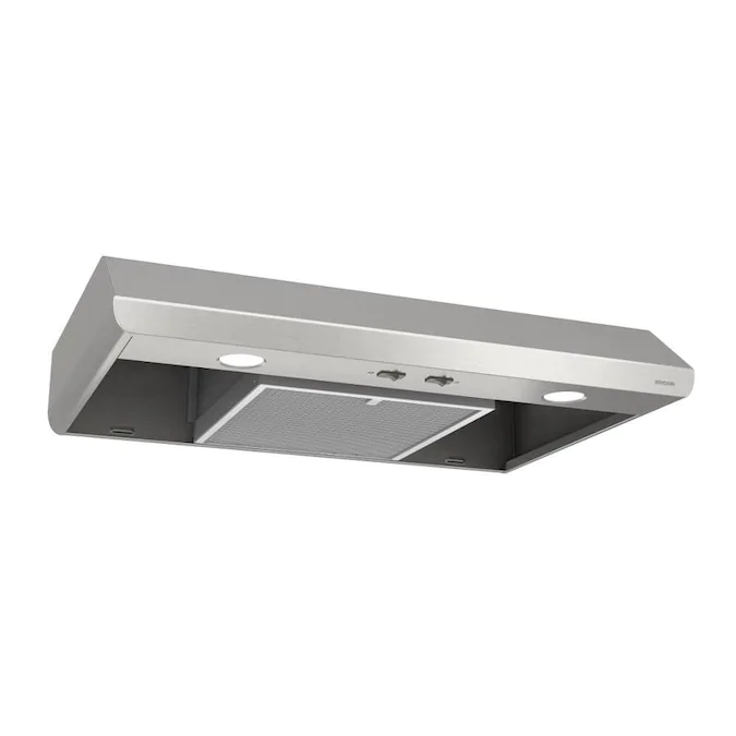 Broan 30 In Convertible Stainless Undercabinet Range Hood Lowes Com Broan Range Hood Stainless Steel Range