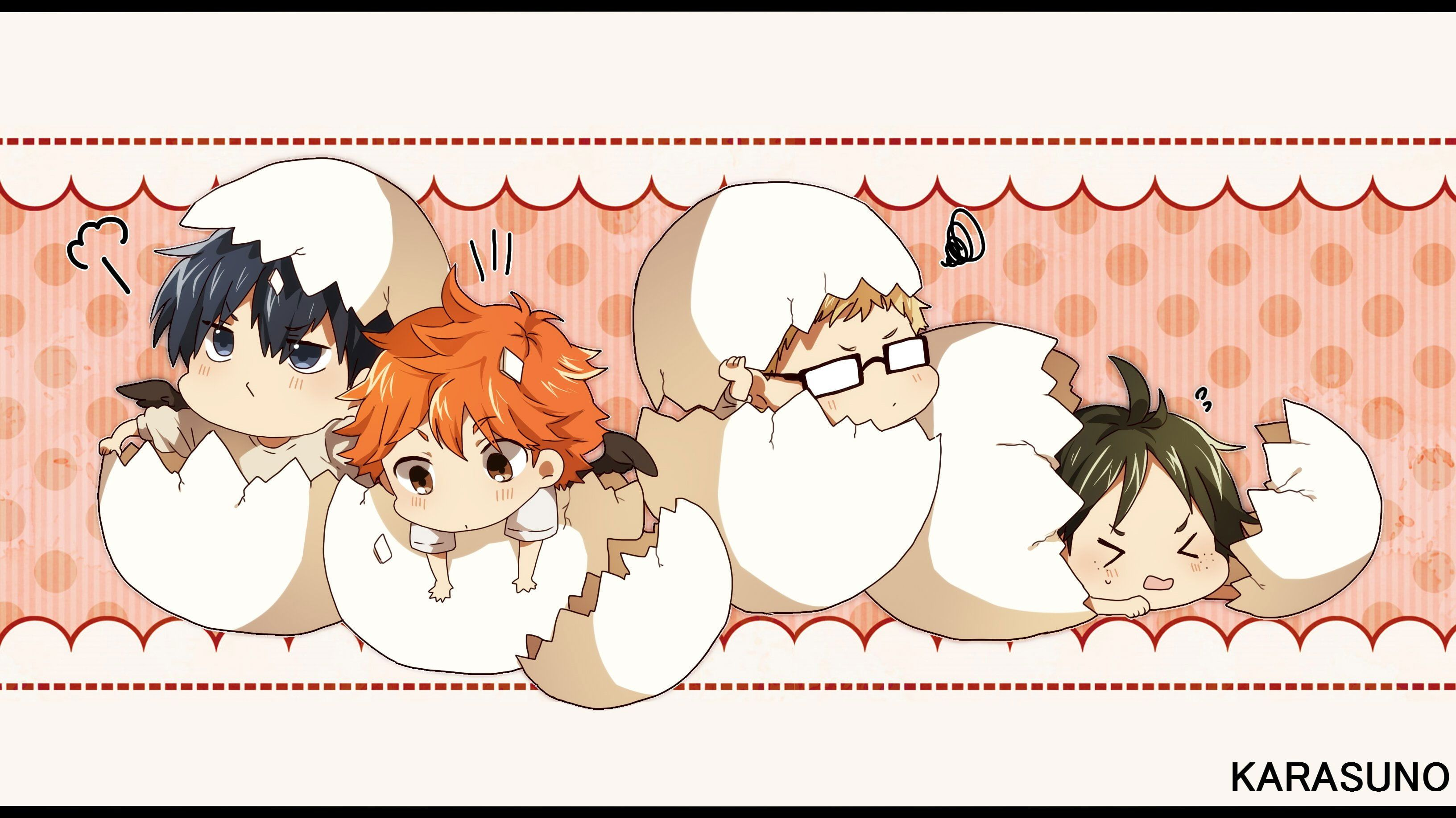 Chibi haikyuu wallpaper • Wallpaper For You HD Wallpaper For Desktop & Mobile