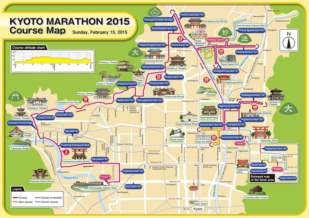 Kyoto Marathon 2015 Sunday Feb 15 2015 httpwww