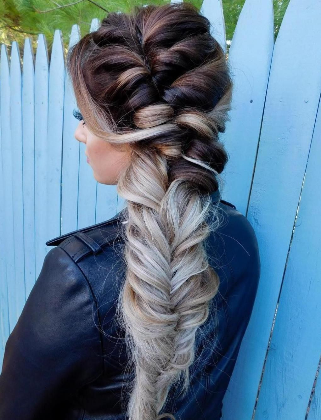 30 Gorgeous Braided Hairstyles For Long Hair Braids For Long Hair Long Hair Styles Thick Hair Styles