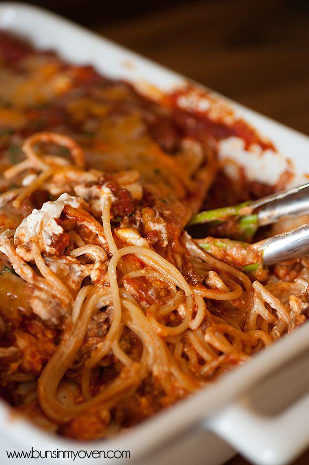 Creamy Baked Spaghetti Recipes With Ricotta Cheesebaked