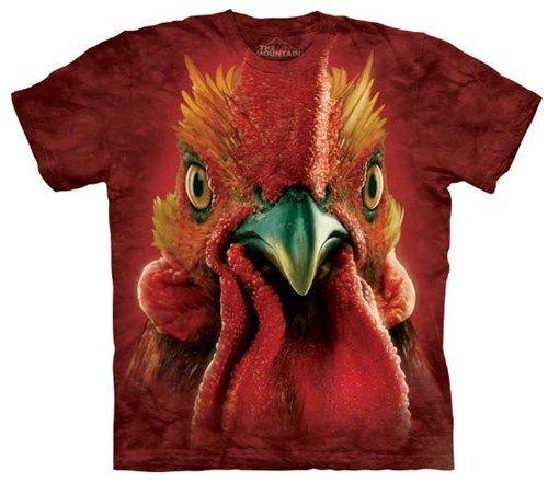 New The Mountain Big Face Flamingo T Shirt