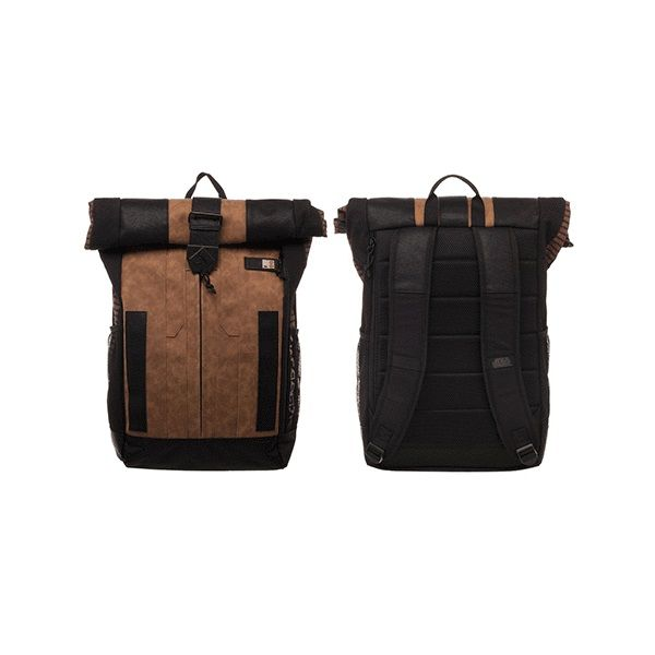 0e206033189 Bioworld x Star Wars Solo Han Solo Roll-Top Backpack at Entertainment Earth  ⭐️The Kessel Runway ⭐ Star Wars fashion ⭐ Geek Fashion ⭐ Star Wars ...