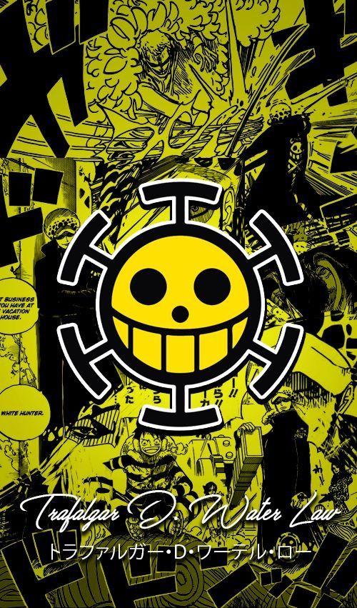 Onepiece Anime Trafalgardwaterlaw Trafalgar Wallpaper Yellow