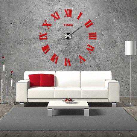 Große Wanduhr   Moderner An Der Wand. Wanduhr Als Geschenk. Die Uhr In Der  Küche, Wohnzimmer Oder Büro. Große Stick Stunden Uhr Als Auf Das Bild. Pictures Gallery