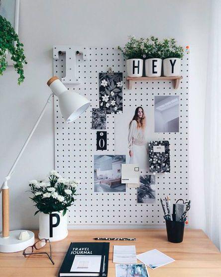 Pinnwände sind zurück in unserem Home-Office #collageboard