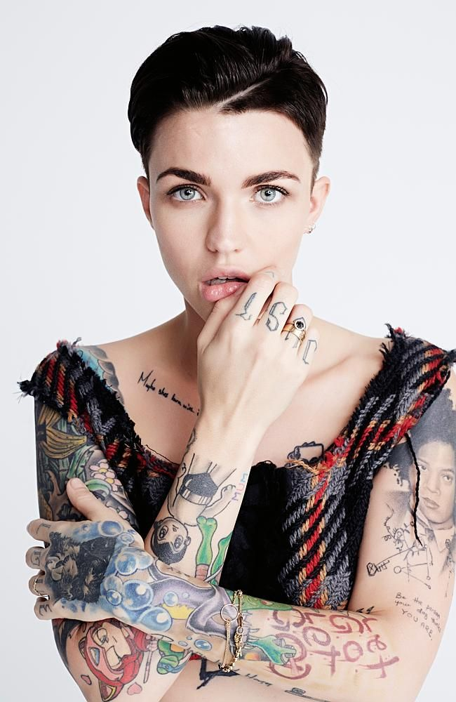 2f4164137 Ruby Rose. Photography: Bec Parsons | Tami (Willow) in 2019 | Ruby ...