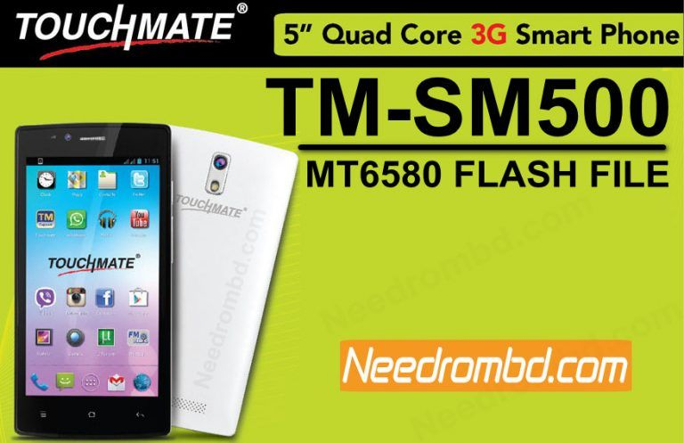 Touchmate TM-SM500 MT6580 Flash file Download | Smartphone