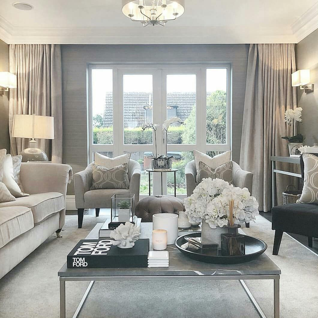 Tips For Easy Home Decorating Living Room Decor On A Budget Elegant Living Room Elegant Living Room Design