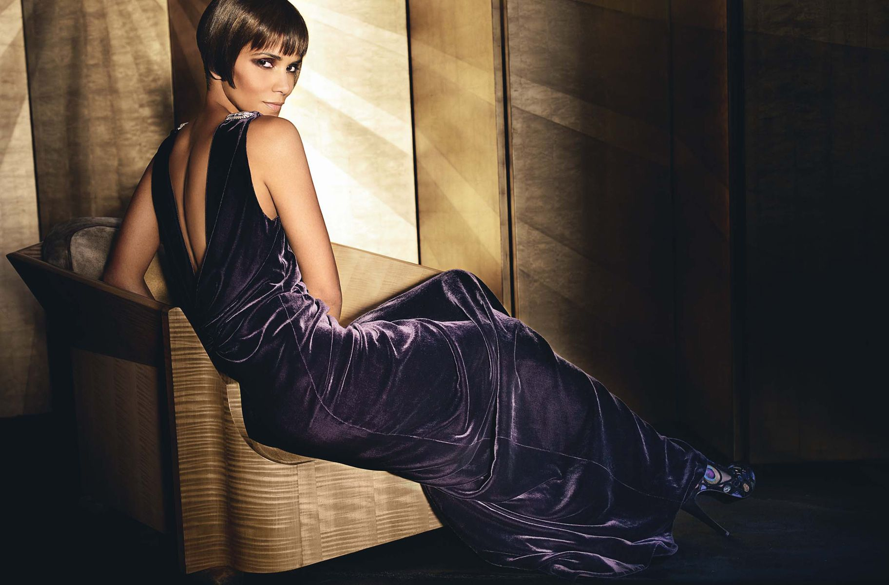 The stunning Halle Barry