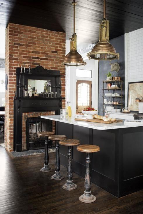 Tendance Deco 2017 Cuisine tendance décoration 2017: les cuisines noires volent la vedette! in