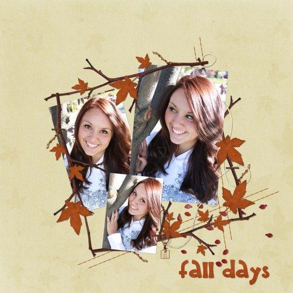 Fall_Days - Fonnetta, you are my scrapbook Yoda