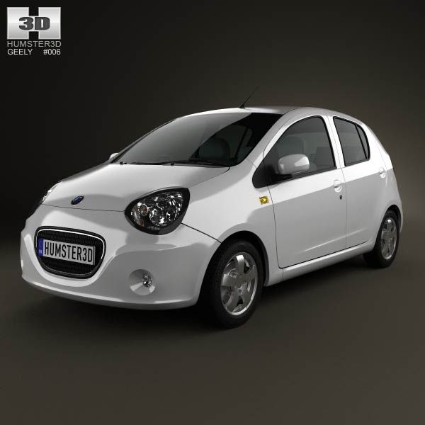 Geely Lc Panda 2012 3d Model From Humster3d Com Price 75