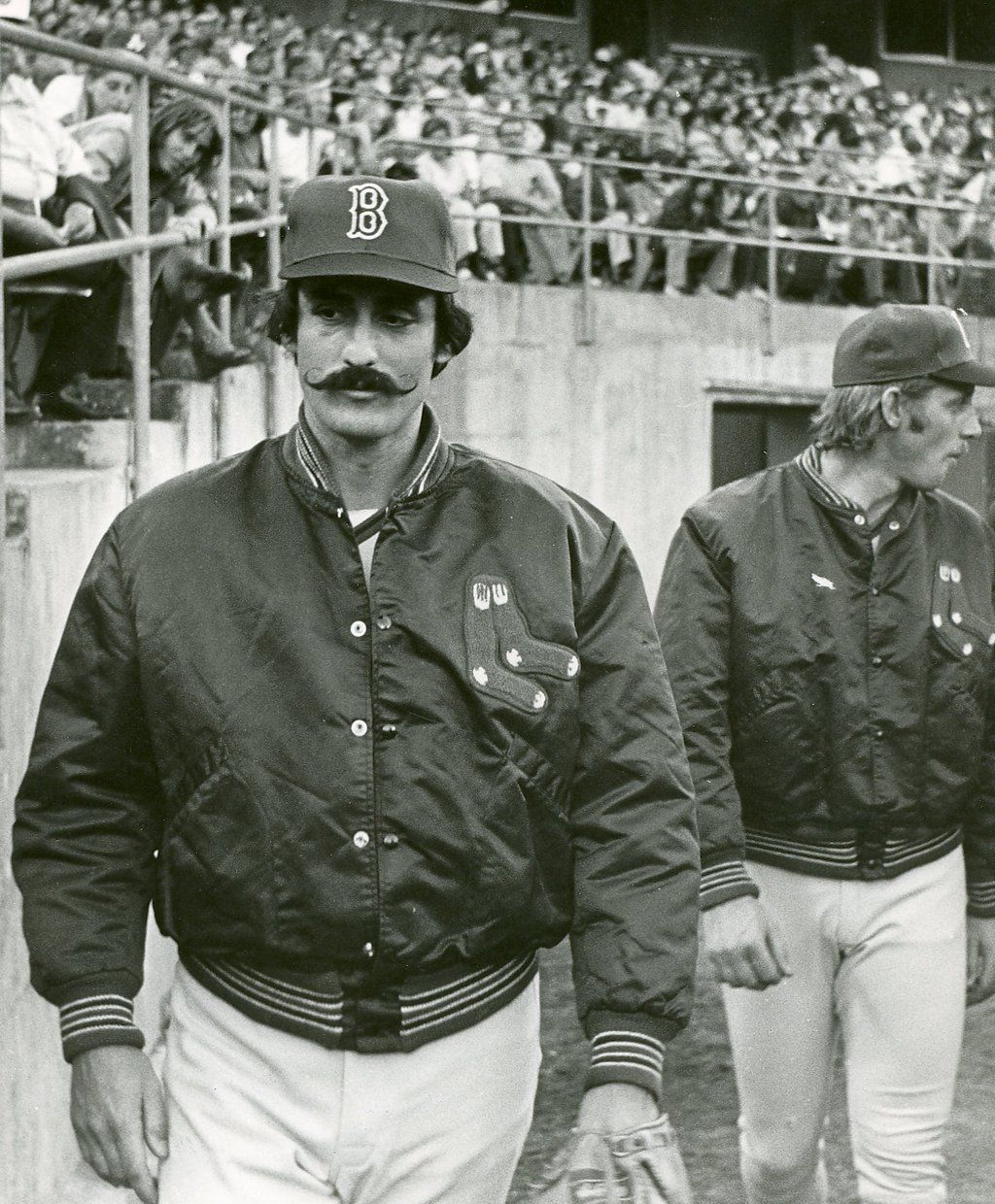 6e9c2f94d24 Rollie Fingers and Joe Rudi were traded by the Oakland Athletics to the Boston  Red Sox