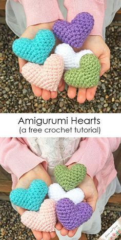 Photo of Mini Amigurumi Heart Pattern