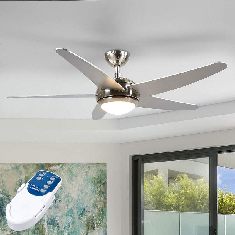 Led Ventilateur De Plafond Avec Lampe Anneka En Bois Pour Salon Salle A Manger Lindby En 2020 Ventilateur Plafond Lumiere Led Et Plafond