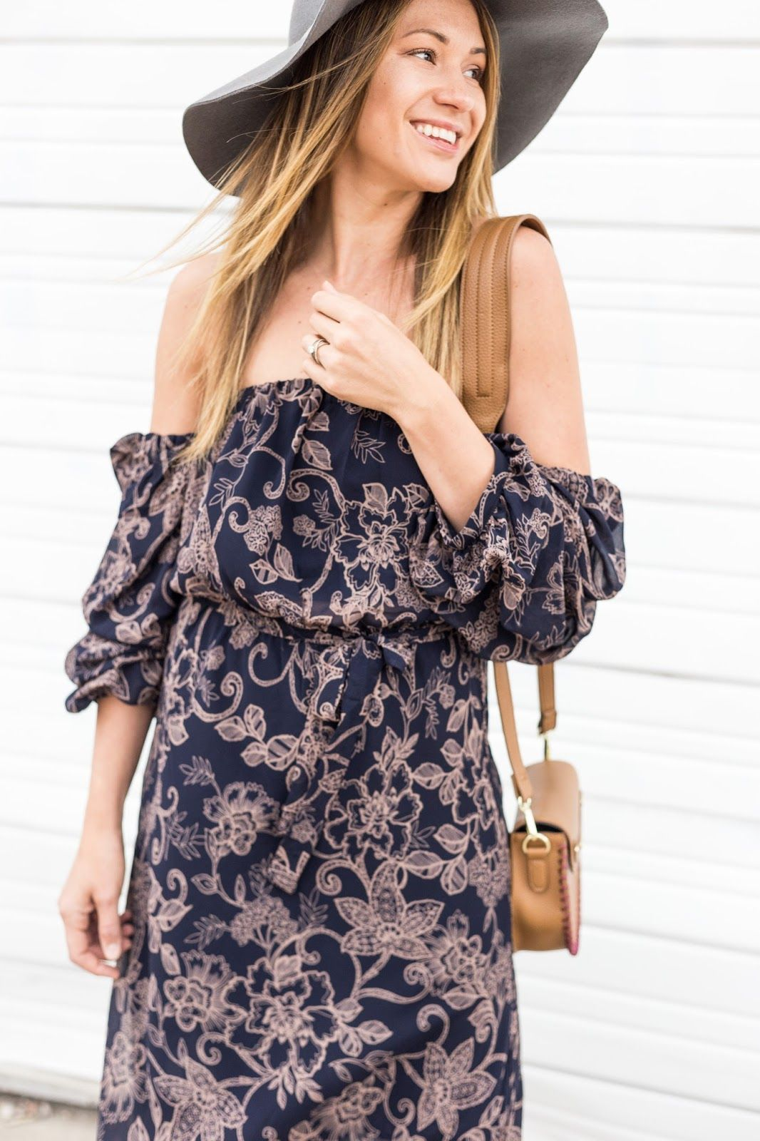 Fashion style Maxi floral dresses favorite summer outfit for lady