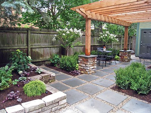 Pea Gravel Patio Ideas | Pea Gravel Concrete Patios