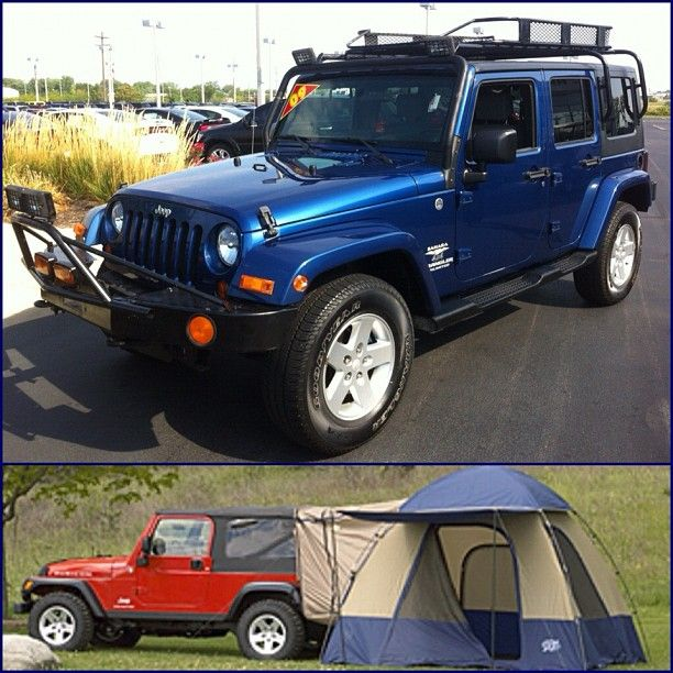 The ultimate c&ing vehicle! Jeep Wrangler with Mopar Tent! C&ing made easy! & The ultimate camping vehicle! Jeep Wrangler with Mopar Tent ...