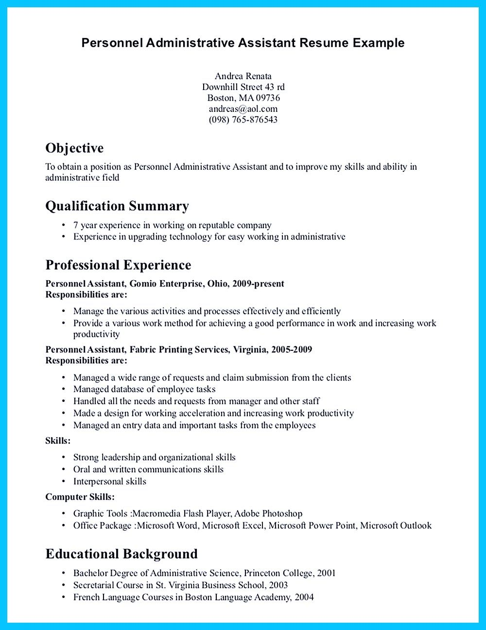 Superb In Writing Entry Level Administrative Assistant Resume, You Need To  Understand What You Will Write. Resume ProfileResume Cover LettersResume ...