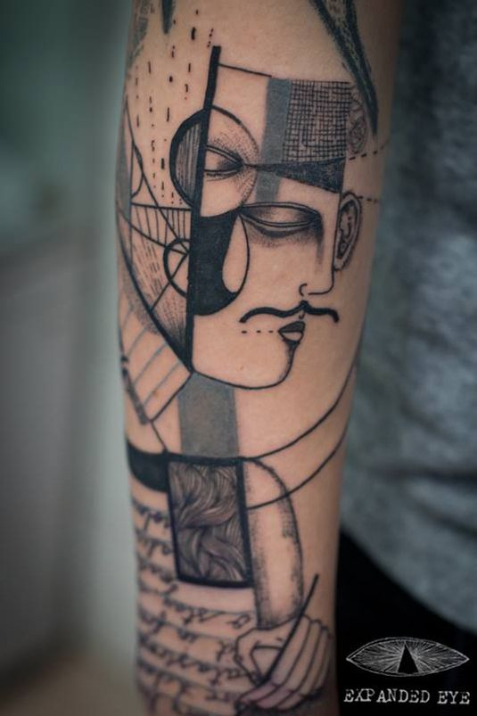 What Would Your Abstract Tattoo Say About You Illustration