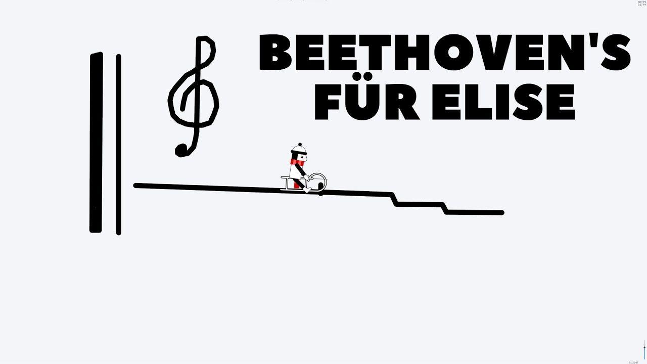 Line Rider Fur Elise Ludwig Beethoven Beethoven Elise Rider