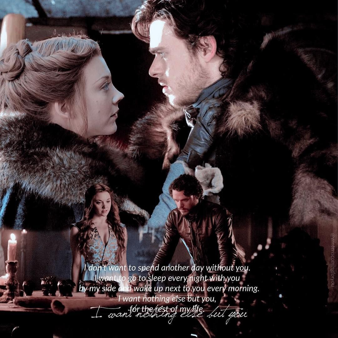 Robb Stark x Margaery Tyrell - Game of Thrones | Margery tyrell ...