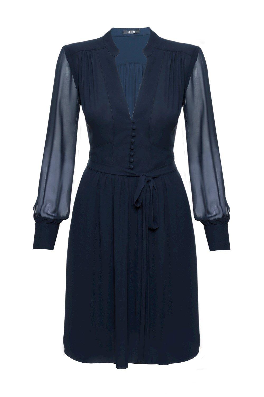 Vestido midi crepe mary things to wear pinterest crêpes moda