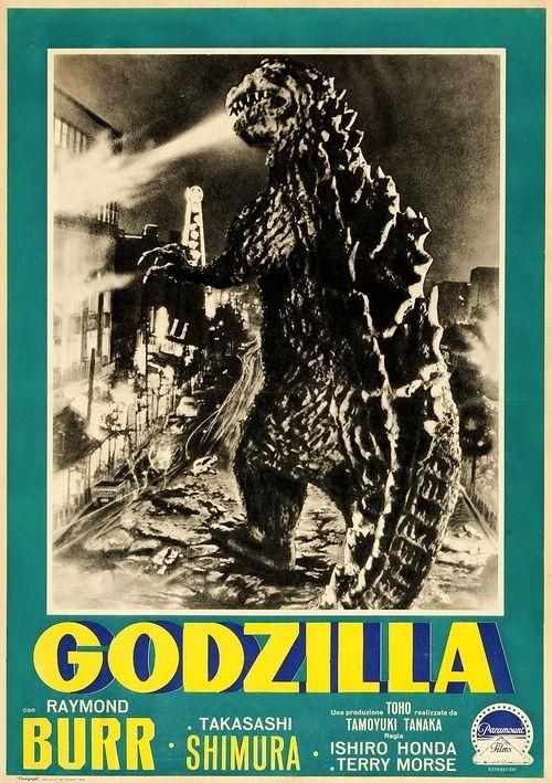 Godzilla - 1954 film poster