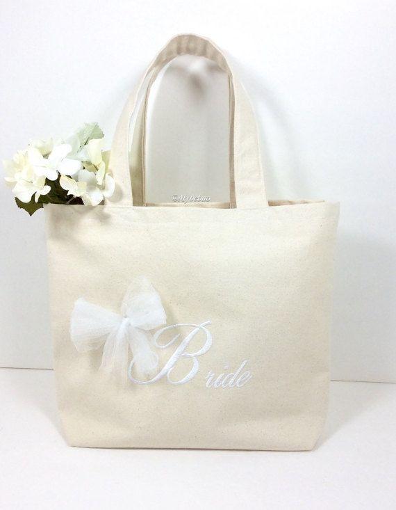 Wedding Tote Bag Honeymoon For Bride Bridal Shower Gift