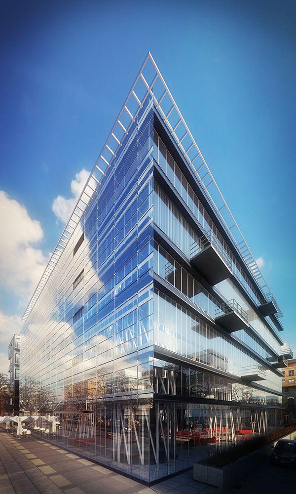 Sendai Mediatheque in Sendai City, Japan. 3D architectural ...
