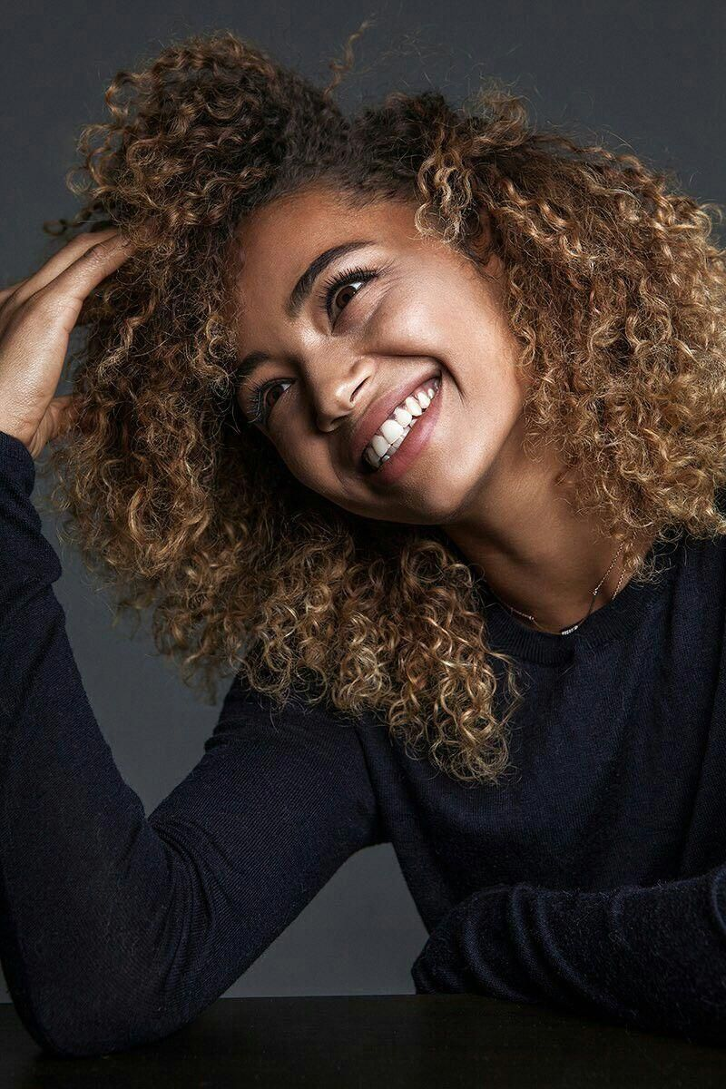 Berta Vazquez #coolafricanhairstyles | Hair styles, Curly