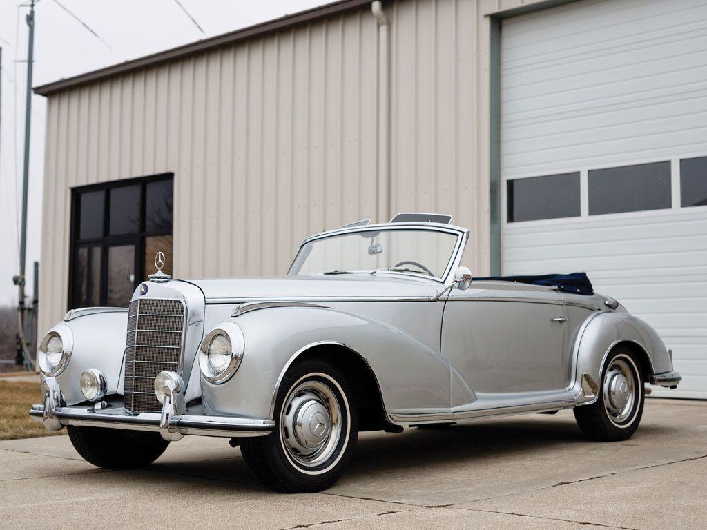 1954 MercedesBenz 300 S Roadster estimate 550,000
