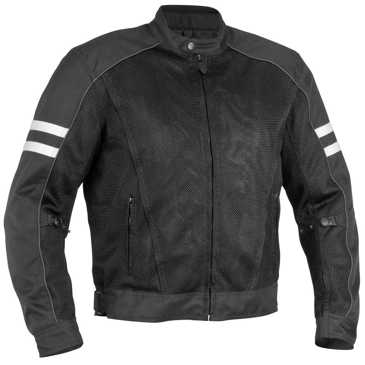 River Road 'Baron' Mens Mesh/Textile Jacket - LeatherUp.com