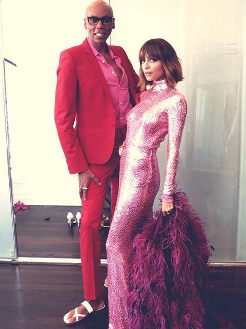 RuPaul & Nicole Richie #candidlynicole