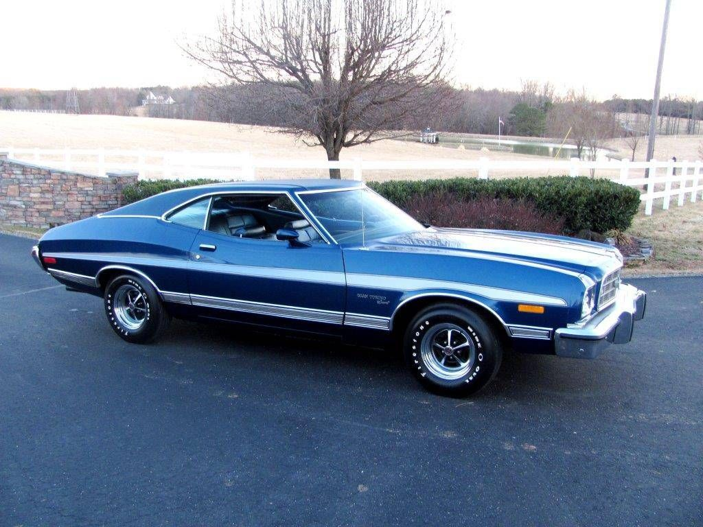 1973 Ford Gran Torino Maintenance Restoration Of Old Vintage Vehicles The Material For New Cogs Casters G Ford Torino Classic Cars Trucks Hot Rods Muscle Cars