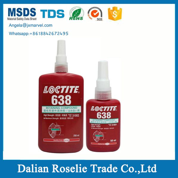 Pin On Loctite638 Green Retainer Adhesive Loctite 638 Retaining Compound 50ml 250ml