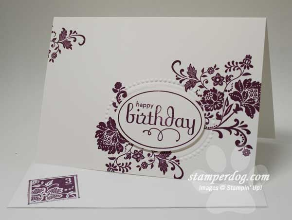 """Fresh Vintage, "" Stampin Up"
