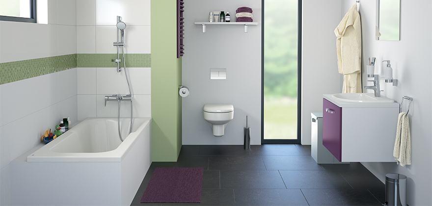 Kheops petite salle de bain Pinterest