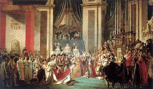 La Coronacion De Napoleon Jacques Louis David Paris Francia 30