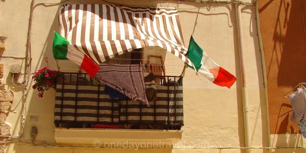 Balcon à Bari