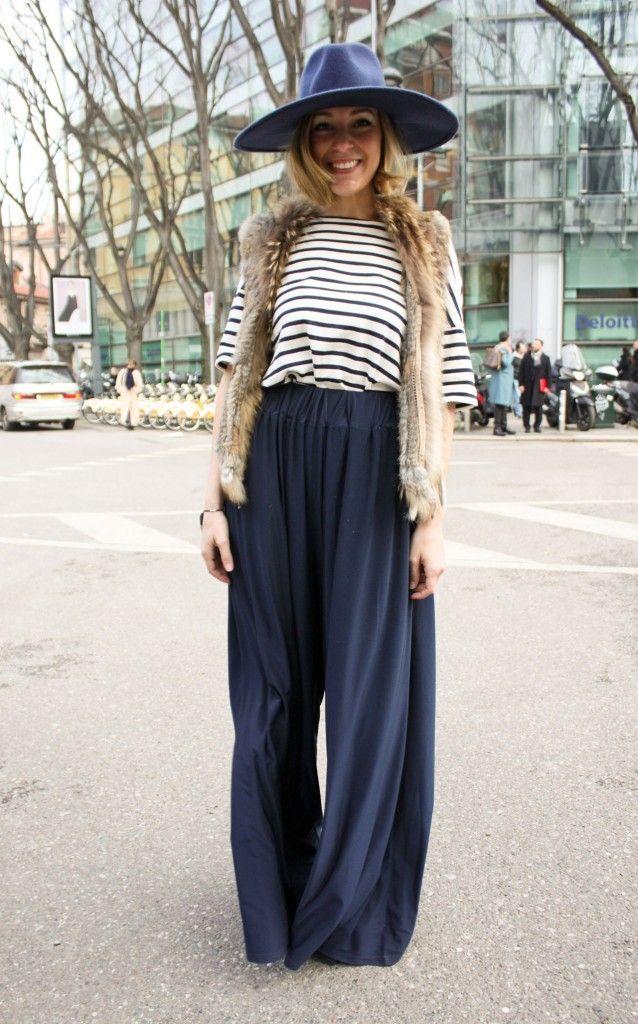 Fashion Wide Leg Pants