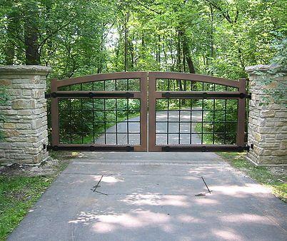 Farm Gate, Farm Style Driveway Gates