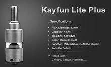 Kayfun clone  29.99
