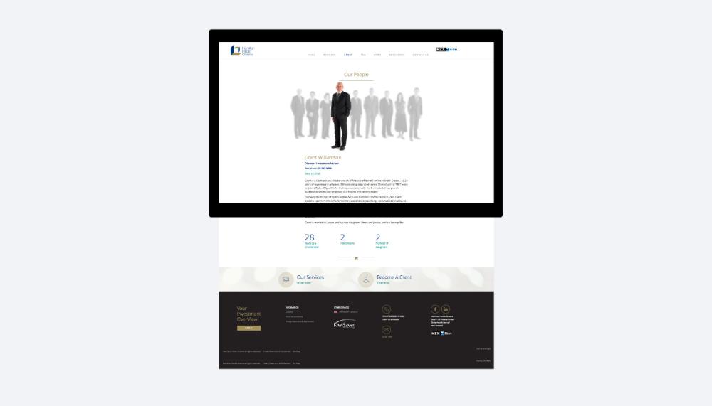 Hamilton Hindin Greene Website Design Graphic Design By Robertson Creative Christchurch New Zealand Website Design Hamilton Creative