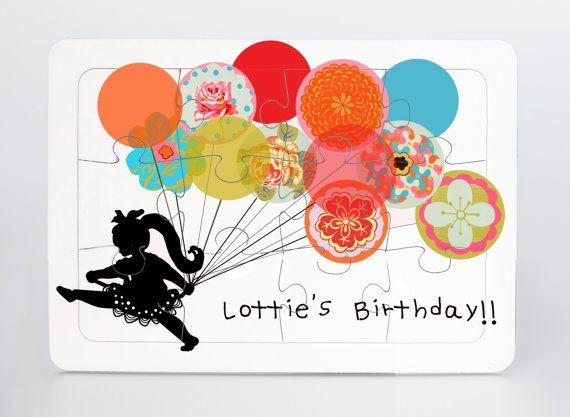 Children\u0027s puzzle Custom puzzle Party favor by LittleIdeasShop