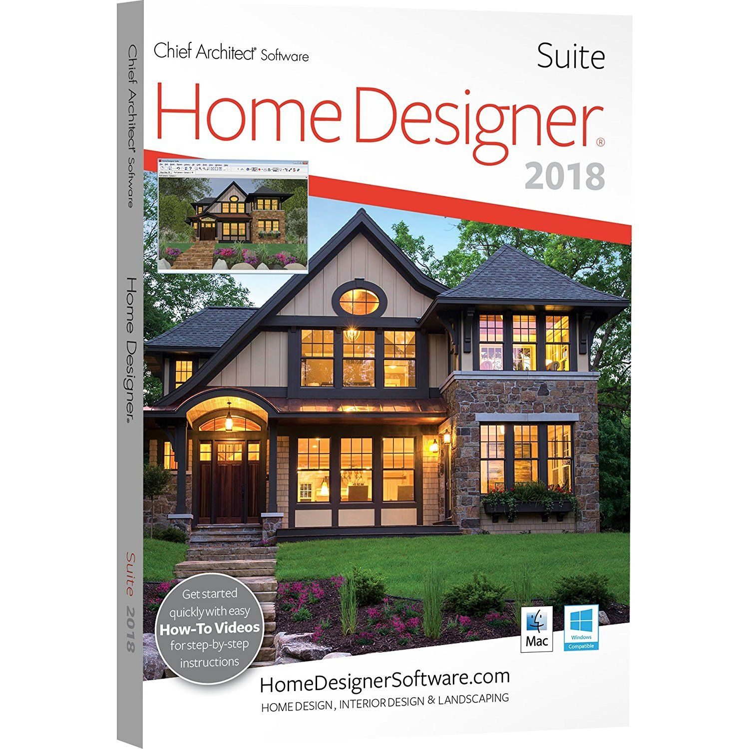 Chief Architect Home Designer Suite 2018   DVD ** Read More At The Image  Link