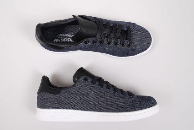 Adidas Stan Smith Black Denim