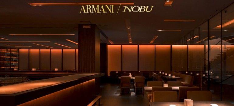 Nobu Milano - Armani Hotel | F&B | Pinterest | Armani hotel, Pub ...