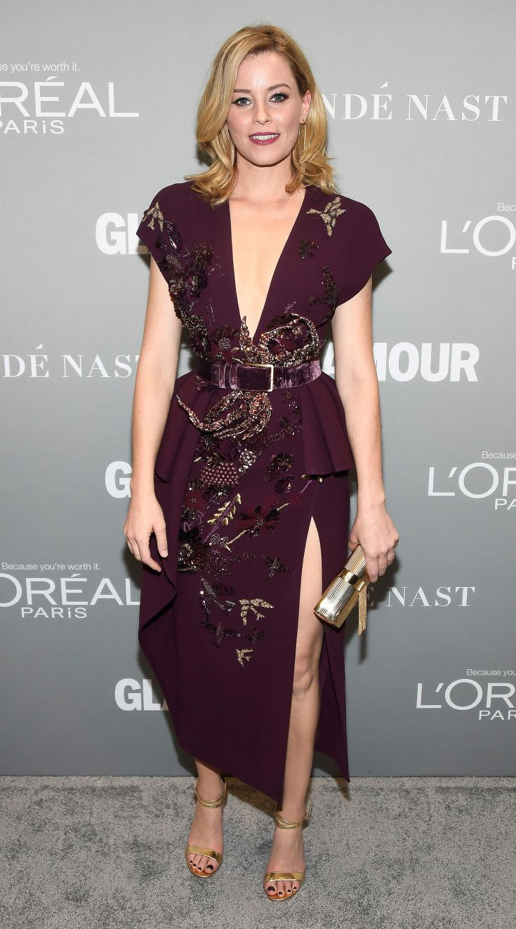 Elizabeth Banks in Elie Saab. I just wish this dress wasn't such an awkward length.